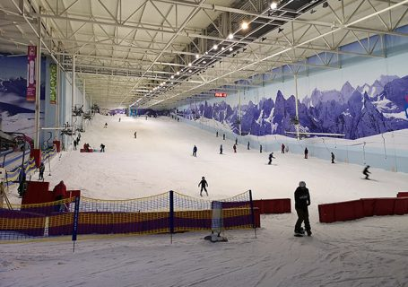 Chill Factore - Snowboarding and skying