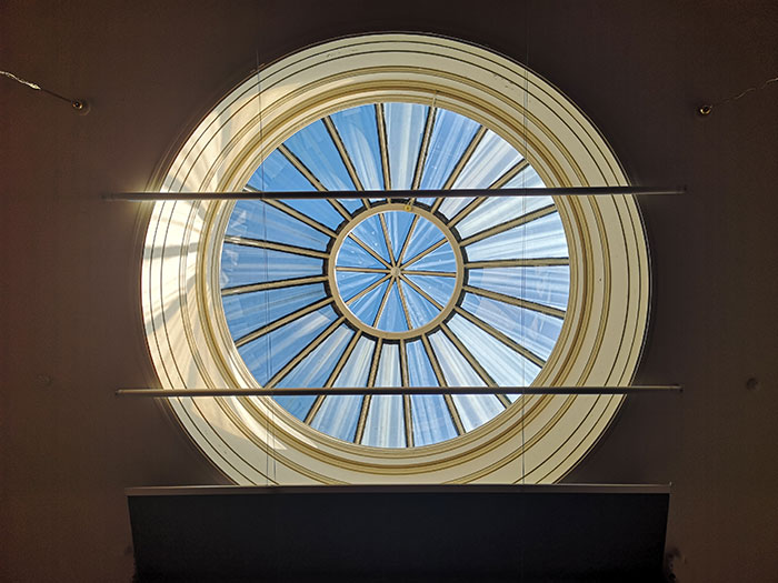 Skylight at Lecture Theatre