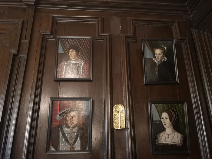 Tredegar House - Paintings on the wall