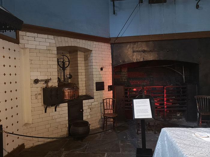 Tredegar House - the kitchens