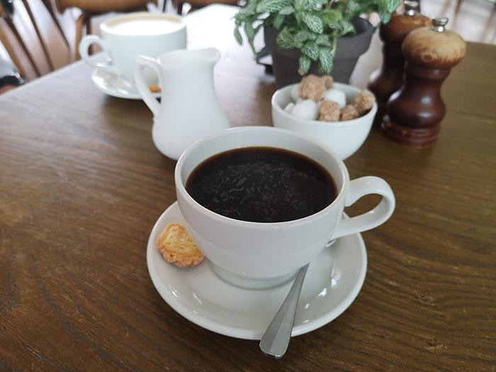 Coffee at Ashmolean