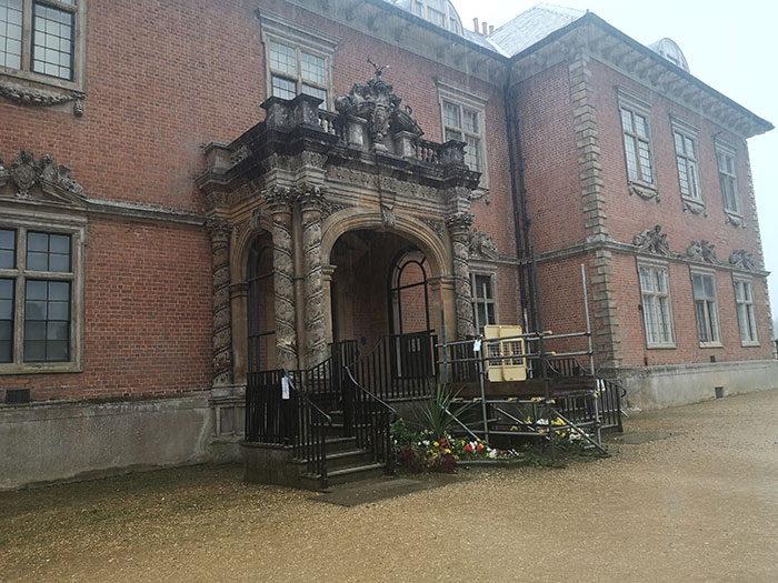 Tredegar House, another entrance