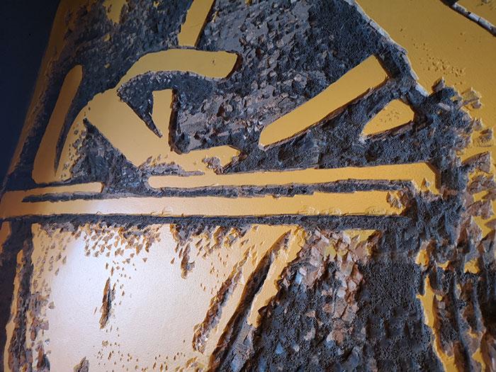 Anna Loka - Detail of wall decorations