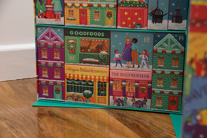 Dream Big Advent Calendar - Christmas village