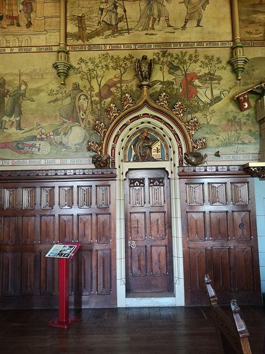 Interior of the Cardiff Castle