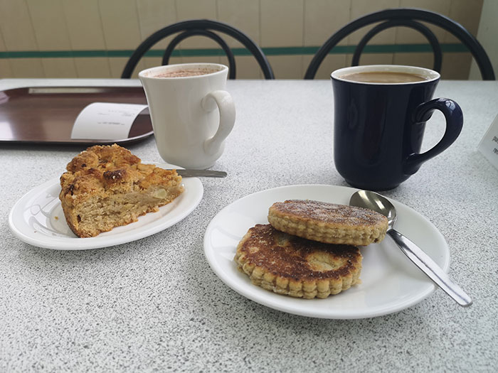 Refreshments at the Big Pit