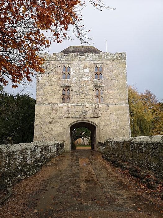 Brige towards Michelham Priory