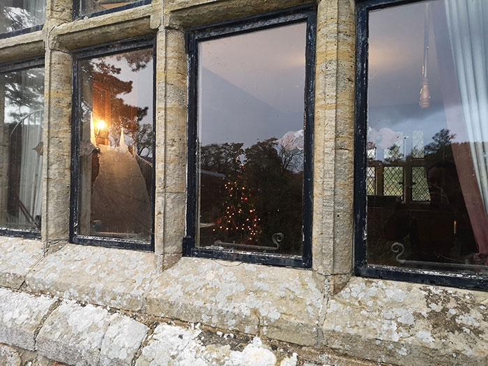 Windows to Michelham Priory