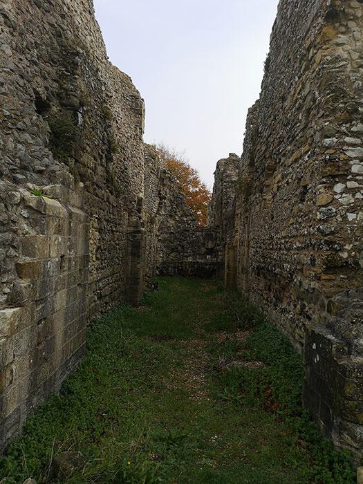 Priory walls
