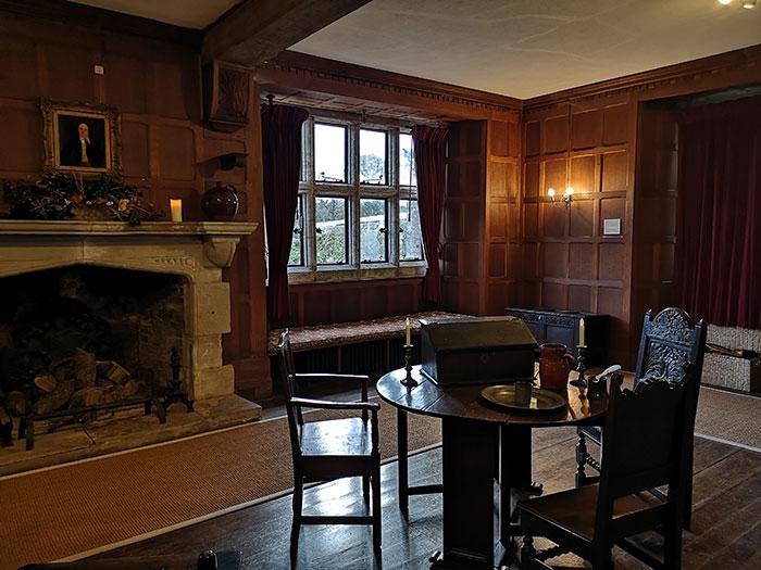 Room at Michelham Priory
