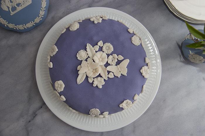 Week 1 - Wedgwood cake