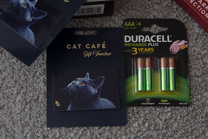 Cats and batteries