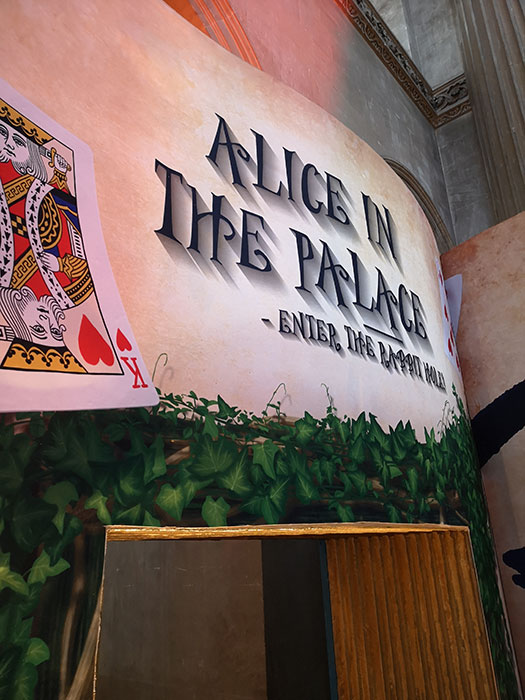Entrance to Alice in Wonderland