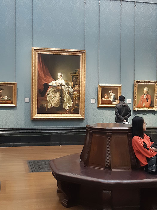 Room at National Gallery