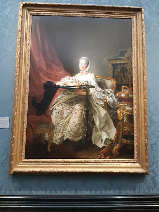 Madame de Pompadour at National Gallery