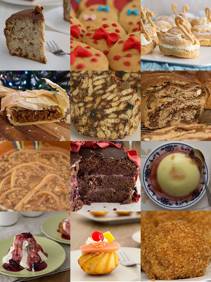 Things I ate as a child - desserts