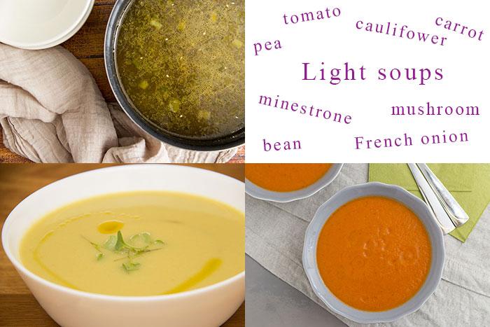 Light soups
