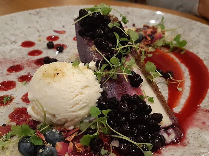 Allotment Vegan Eatery - Cheesecake