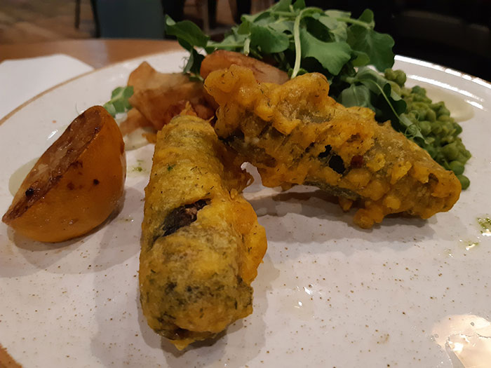 Allotment Vegan Eatery - Fish and Chips