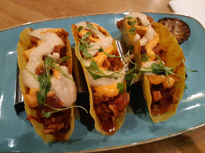 Allotment Vegan Eatery - Tacos
