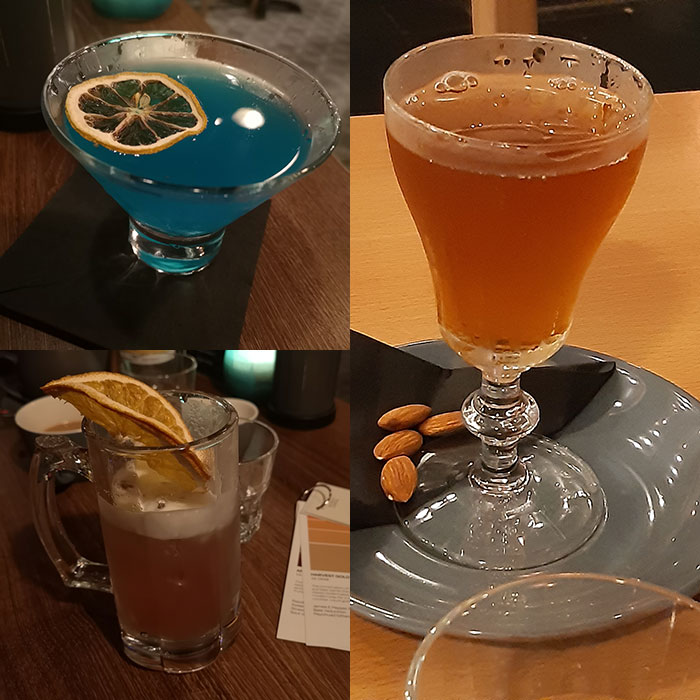 Down at the Hatch - cocktails