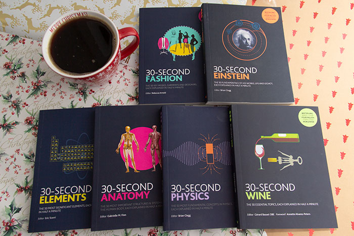 Christmas Gift Guide Books. 30 Second