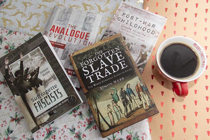 Christmas Gift Guide Books. Simon Webb