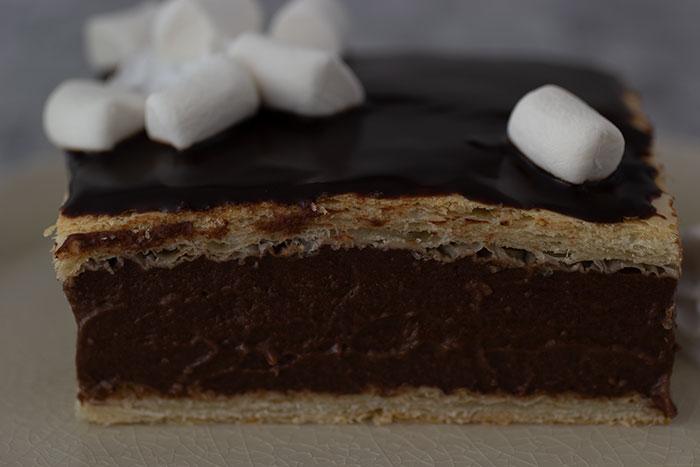 Week 10 - Final - Hot Chocolate Custard Slice