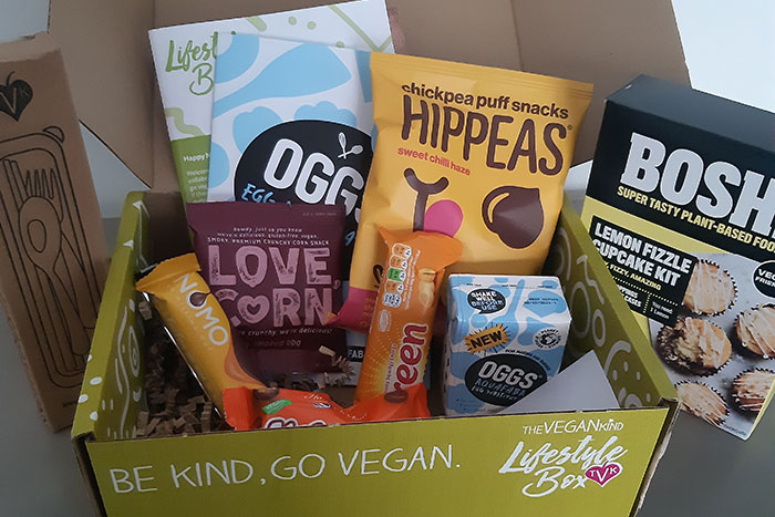The Vegan Kind. January Box