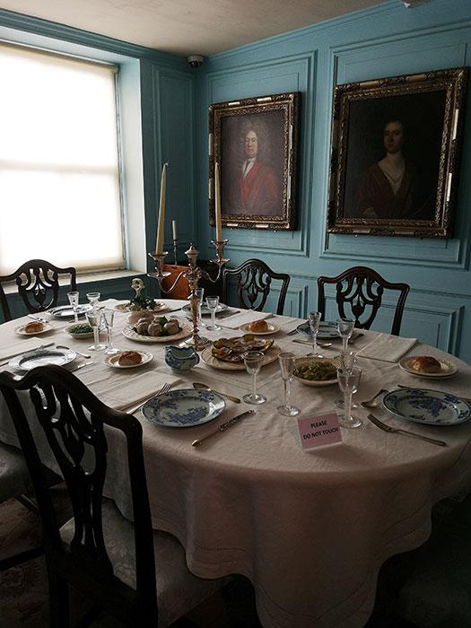 18th century dining room