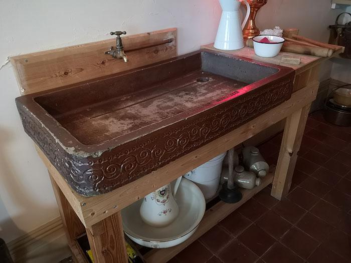 Victorian sink